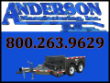 6X12 ANDERSON DROP DECK 10,000# PAYLOAD