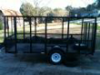 MODIFIED 5 X 12 TRAILER W. HIGH SIDES
