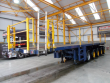 NOOTEBOOM 116,100 KG'S SPECIAL TYPES 5 AXLE 45FT FLATBED BALLAST