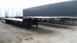 DEMCO 53X102 TANDEM AXLE STEEL DROP DECK TRAILER - AIR RIDE, FIXED SPREAD AXLE