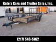 2020 LAMAR TRAILERS 14' ATV TRAILER WITH SIDE LOAD RAMPS UTILITY TRAILER