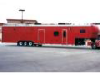 RACE CAR TRAILER WITH LIVING AREA