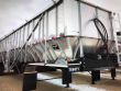 2020 TRINITY 42X96 TANDEM AXLE STAINLESS STEEL BELT TRAILER - AIR RIDE, FIXED AXLE