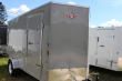 2021 CARRY-ON 6X14 CARRY-ON GRAY VNOSE CARGO TRAILER CARGO / ENCLOSED TRAILER