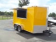 7X12 CONCESSION TRAILER W AC AND SINK PKG
