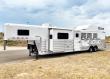 2021 4-STAR P/C LOAD 4 HORSE LIVING QUARTERS TRAILER
