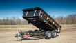 """2018 MAXXD 14'X83"""" DUMP TRAILER ******HAVE EVERY SIZE YOU MAY NEED"""