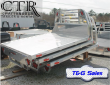 "2019 T & G SALES, LLC 9'2"" COWBOY STYLE ALUMINUM FLATBED, WITH TOOL"