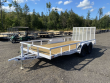 2021 DIAMOND C 7X16 7K DUAL AXLE UTILITY TRAILER W/ REAR RAMP GATE