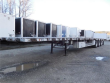 2014 WILSON TRAILER ROAD BRUTE AIR RIDE QUAD AXLE FLATBED WITH CONTAINER LOCKS