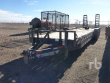 2015 TEXAS PRIDE 32 FT X 6 FT 10 IN. TRI/A EQUIPMENT TRAILER