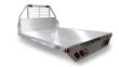 "2020 ALUMA 6'9"" X 7'6"" (81"" X 90"") ALUMINUM SINGLE WHEEL FLAT BED (FITS SHORT BED TRUCKS)"