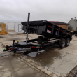 "DIAMOND C TRAILERS 82"" X 14' LOW PROFILE DUMP TRAILER W/ TELESCOPIC LIFT - PAYMENTS FROM WITH DOWN W.A.C."