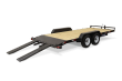 2020 SURE-TRAC 7 X 20 WOOD DECK CAR HAULER 7K