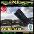 2019 LOAD RUNNER DUMP TRAILER DG96-20T10-48S
