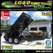*DB55C* 7X14 7K TWIN PISTON DUMP TRAILER DUMPS & TRAILERS 7 X 14   D82-14T7-24S