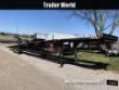 2000 KAUFMAN 50' 3 CAR TRAILER W/ WINCH