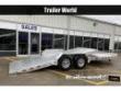 2021 ALUMA 8222- 22' 16' + 6' TILT BED EQUIPMENT TRAILER 14K