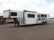 CLEARANCE 2015 SUNDOWNER TRAILERS 3H 8013 LQ W/SLIDE OUT HORSE TRAILER