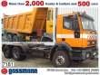 1994 IVECO 260EH 34 6X4 EFH./UMWELTPLAKETTE ROT