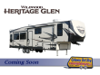 2021 FOREST RIVER WILDWOOD HERITAGE GLEN 369BL