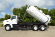 2001 STERLING VACUUM TRUCK DUMPS FULL OPEN REAR GATE