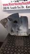 GMC C7000 LEFT FENDER EXTENSION