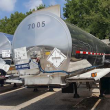 1988 BRENNER 307/407 TANK TRAILER, SPRING SUSPENSION, TANDEM REAR AXLES, STAINLESS STEEL