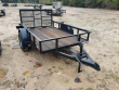 2021 SALVATION TRAILERS 5X8 UTILITY TRAILER