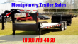 2019 TEXAS PRIDE TRAILERS 24 GOOSENECK LOWBOY EQUIPMENT TRAILER