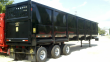 2020 CORAS STEEL TRI-AXLE GONDOLA SCRAP TRAILER