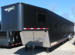 OVERSTOCK SALE CUSTOM! SAVE NOW 2019 BLACK OUT 48' MILLENNIUM TRAILER W/14' +8' LIVING QUARTERS