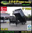 2019 LOAD RUNNER DUMP TRAILER DG83-16T7-48S