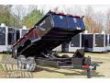7 X 14 14,000LBS HYDRAULIC DECK OVER DUMP TRAILER