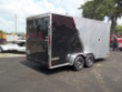 7 X 16 LOOK VISION 2 TONE ENCLOSED TRAILER SILVER