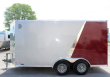 LOOK! NOW AVAILABLE 2020 7'X14' SCOUT ENCLOSED CARGO TRAILER WITH RAMP DOOR