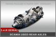 """SCANIA AD/ADA 1100/1300/1500 DRIVE AXLE FOR 3-4-""""R"""" SZÉRIA TRACTOR"""
