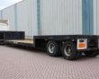 1991 DIVERS MG 2-AXLE LOW LOADER