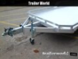 2022 ALUMA 7816BT 16' ALUMINUM OPEN UTILITY TRAILER STOCK# 33786