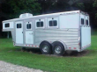 2006 ELITE MUSTANG 3 HORSE TRAILER