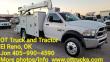 2017 DODGE 5500 UTILITY TRUCK - SERVICE TRUCK 5500