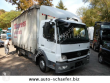 MERCEDES TARP TRUCK 824 L/ PRITSCHE/LBW DIESEL EURO 4 REAR HATCH