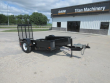 """2011 FELLING FT6D, 14"""" DECK HEIGHT, 11 DEGREE LOAD ANGLE UTILITY TRAILER"""