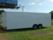 "CW 8'6"" X 24 CAR HAULER WHITE"