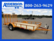 6X12 ANDERSON UTILITY W/GAS SPRING ASSIST GATE