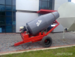 2018 METALIKA CM-1500 MOBILE READY-MIX CONCRETE MIXER