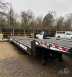 2002 LANDOLL 660 TRAVELING AXLE TRAILER - WOOD FLOOR, TOOLBOX, WINCH