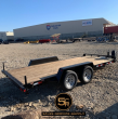 2020 WALTON 16' FLATBED CAR HAULER