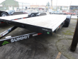 2018 SUMMIT TRAILER 7 X 20 10K FLATBED CASCADE W/REMOVABLE FENDERS