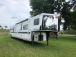 2004 SUNDOWNER TRAILERS GRAND SIERRA HACIENDA 8 WIDE 3 HORSE W/19 LQ HORSE TRAILER